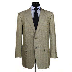 Ermenegildo Zegna Wool Silk Linen Sport Coat 42R